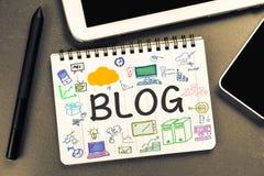 Creeer Blog stock fotografie