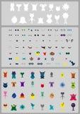 Creeer Karakter & Monster! Verwezenlijkingsuitrusting Stock Foto