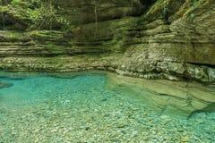 The Creek纯净的水  库存照片