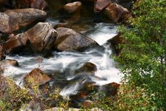 Creek. Near Aspen Royalty Free Stock Photos