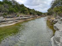 Creek in Austin Royalty Free Stock Photography