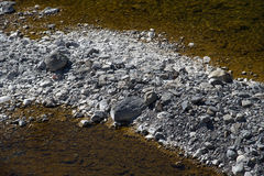 Creek bed Royalty Free Stock Photography