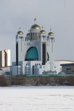 Creek-catholic cathedral in Kyiv Stock Photo