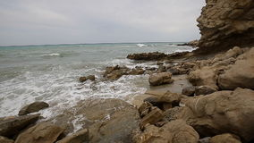 Creek of Charco in Villajoyosa, stock video