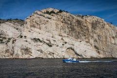 The Creek di Marsiglia, francese immagine stock libera da diritti