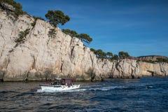 The Creek di Marsiglia, francese immagine stock