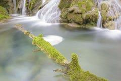 Creek at Entzia mountain range, Spain Royalty Free Stock Photos