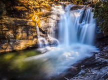 Creek Falls 2公爵 免版税库存照片