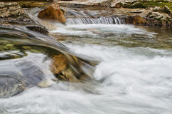 Creek flowing Stock Photography
