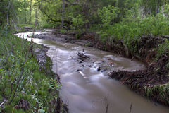 A Creek that Flows to the Minnesota River Royalty Free Stock Photos