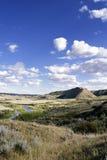 Creek Hills. On the Swift Current Creek, near Stewart Valley, Saskatchewan Stock Images