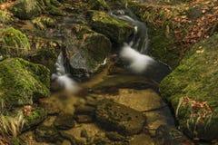 Creek Kamenice in Jizerske hory mountains Royalty Free Stock Photography