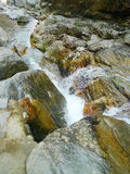 Creek in lushan mountains Royalty Free Stock Photo