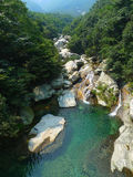 Creek in lushan mountains Royalty Free Stock Photography