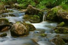 Creek Mochesuay. Mountain creek Mochesuay, Lovozera, Russia Stock Photography
