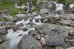 Creek in mountain Royalty Free Stock Images