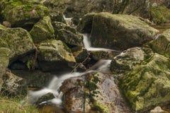 Creek near Velky Stolpich waterfall Stock Photos