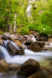 The Creek nedanför Shannon Falls Royaltyfri Bild