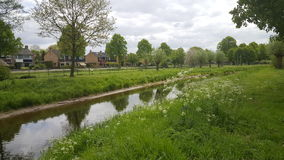 Creek in the netherlands Stock Image