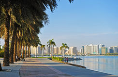 Creek Park. One os the 4 relaxation parks in Dubai Royalty Free Stock Photos