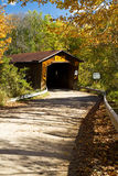 Creek Road covered bridge Stock Photos