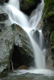 Creek Rock Falls. A creek creates a nice waterfall during the winter months in Northern California Stock Images