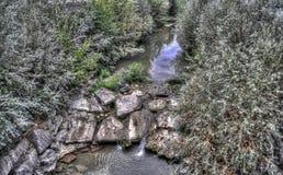 Creek and rocks Stock Photo