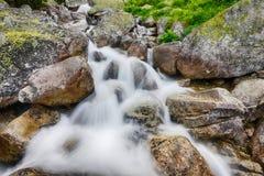 Creek in mountain Stock Photos
