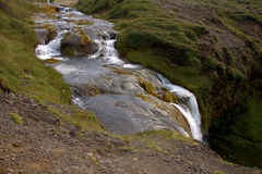 A creek on Snaefellsnes penisula in Iceland Royalty Free Stock Photography