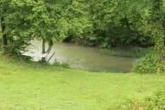 The Creek sta chiamando distendasi fotografia stock