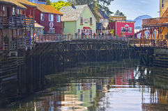 Creek Street,  Ketchikan, Alaska Royalty Free Stock Photography