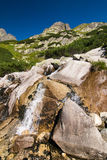 Creek in summer mountains Royalty Free Stock Image