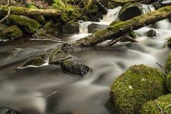 The Creek unter dem ` Eisgraben-` Wasserfall in Deutschland Lizenzfreie Stockfotos