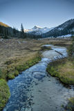 Creek, Wallowa Mountains, Oregon Stock Photo