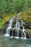 Creek and waterfall Royalty Free Stock Photos