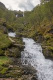 Creek in Norway royalty free stock images