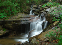 Creeks below Amicalola Falls. This is the creeks below amaicalola water fall Stock Photo