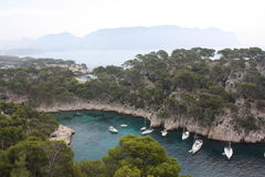 Creeks of Cassis Stock Image