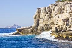 Creeks in Cassis Royalty Free Stock Images