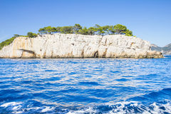 Creeks in Cassis, South of France Royalty Free Stock Photography