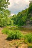 Creekside Ansicht Lizenzfreie Stockbilder