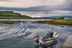 Creel łódź Obrazy Stock