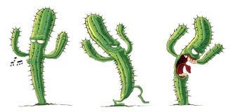 Creeping cactus Stock Photo
