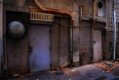 Ominous Alleyway Stock Photo