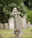 Creepy cemetery Stock Photography