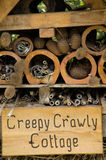 Creepy Crawly Cottage Close Up Stock Image