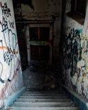 Abandoned door stock photos
