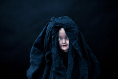 Creepy doll stock photography