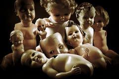 Creepy dolls Royalty Free Stock Photography