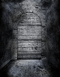 Creepy forbidden door Stock Photos